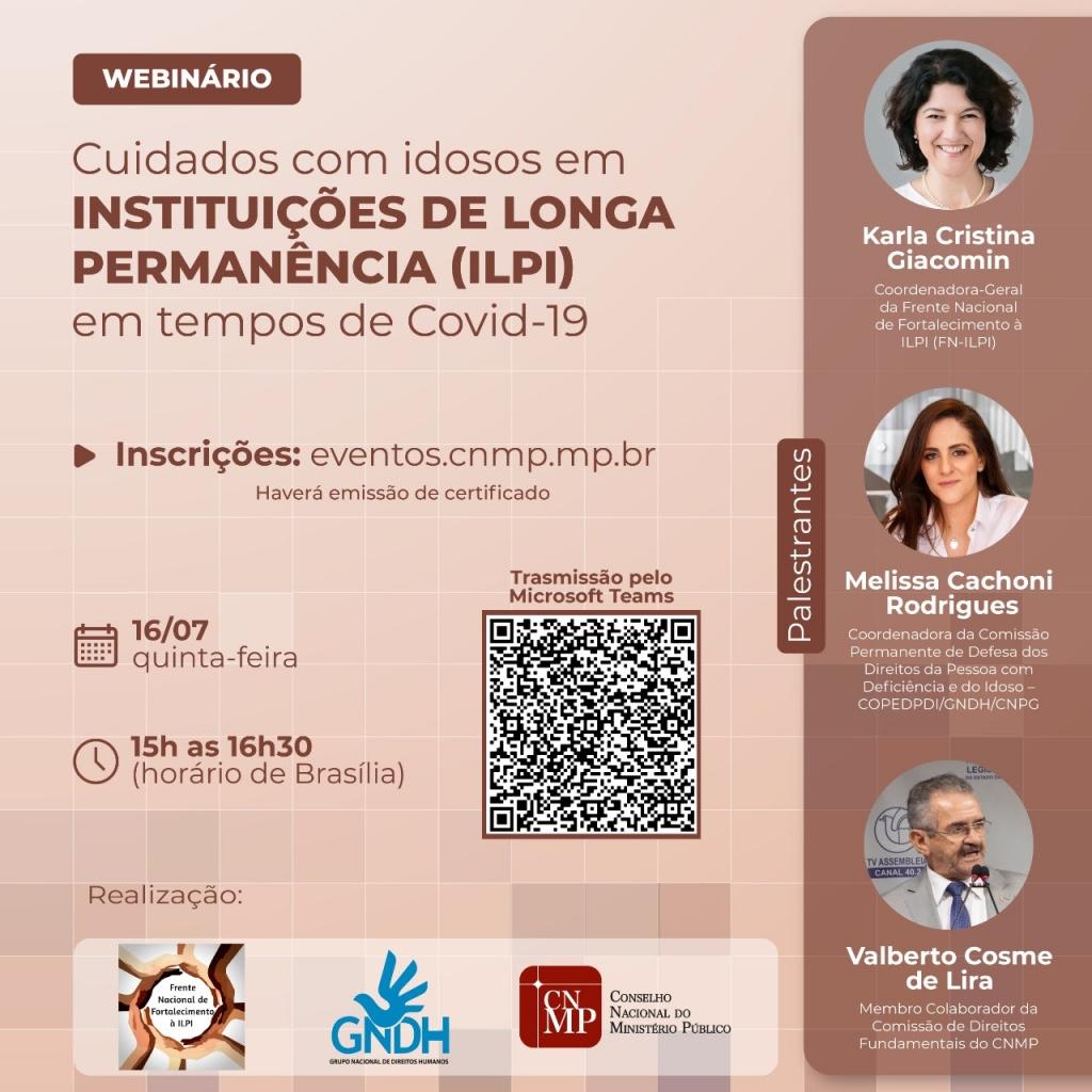 Webinário CNMP